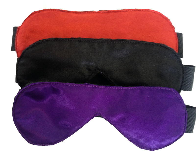 Satin Blindfold with Stretch Strap