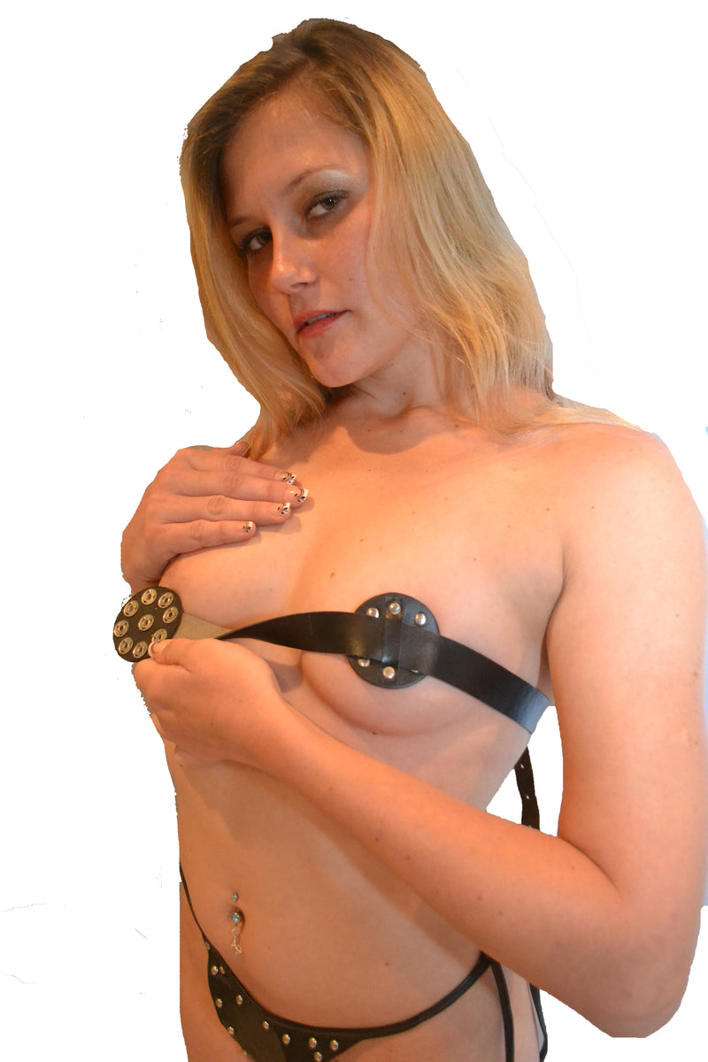 BREAST BONDAGE HORNET NIPPLE HARNESS