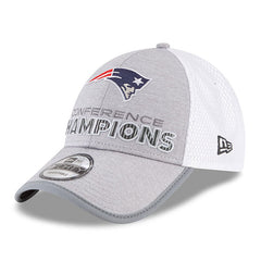 New England Patriots New Era 2017 AFC Champions Trophy Collection Locker Room 9FORTY Adjustable Hat