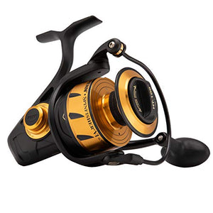 "Penn, Spinfisher VI Saltwater Spinning Reel, 6500, 5.6:1 Gear Ratio, 42"" Retrieve Rate, 6 Bearings, Ambidextrous"