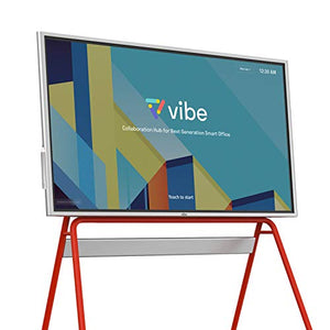 "Vibe All-in-one Computer Real-time Interactive Whiteboard, Video Conference Collaboration, Robust App Ecosystem, Smart Board for Classroom and Business W/ 55"" 4K UHD Touch Screen (No Stand Included)"