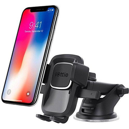 iOttie Easy One Touch 4 Dashboard & Windshield Car Mount Holder for iPhone X 8 8 Plus Samsung Galaxy S9 S9 Plus S8 Plus S8 Edge S7