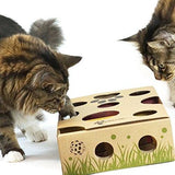 CAT AMAZING - Best Interactive Cat Toy Ever! Treat Maze & Puzzle Feeder for Cats