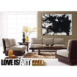 Love Is Art Canvas and Paint Kit - Abstract Art Through Intimacy