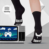 Novelty Cotton Socks Do Not Disturb Gaming Socks Funny Gifts for Men Women Teen Gamers