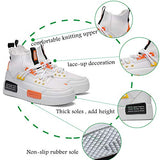 Mens Fashion Sneaker Stylish Running Shoes for Casual Sports Athletic Walking Shoe White