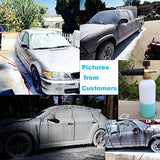 "DUSICHIN SFL-001 Foam Cannon Snow Foam Lance Pressure Washer Jet Wash Quick Release Adjustable 1/4"" Fitting Male"