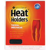 "HEAT HOLDERS - Mens Winter Warm Thermal Underwear Pants Long Johns Bottoms (XX-Large: 42-44"" Waist, Charcoal)"