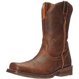 Ariat Men's Rambler Wide Square Toe Western Cowboy Boot, Wicker, 12 M US