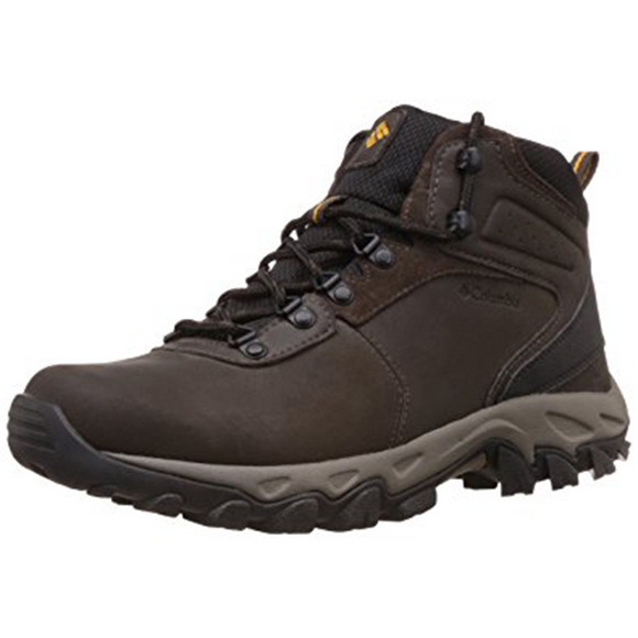 Columbia Men's Newton Ridge Plus II Waterproof Hiking Boot, Cordovan/Squash, 10.5 D US