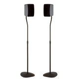 "Sanus Adjustable Height Speaker Stand - Extends 28"" to 38"" - Holds Satellite & small Bookshelf Speakers - Set of 2 - Model: HTBS"