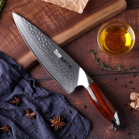 HAOYE VG10 Damascus steel 8 inch chef knife