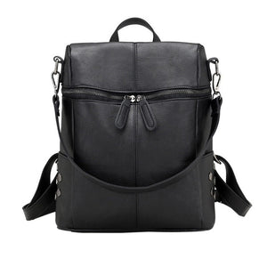 MoneRffi Fashion Leather Backpack for Women