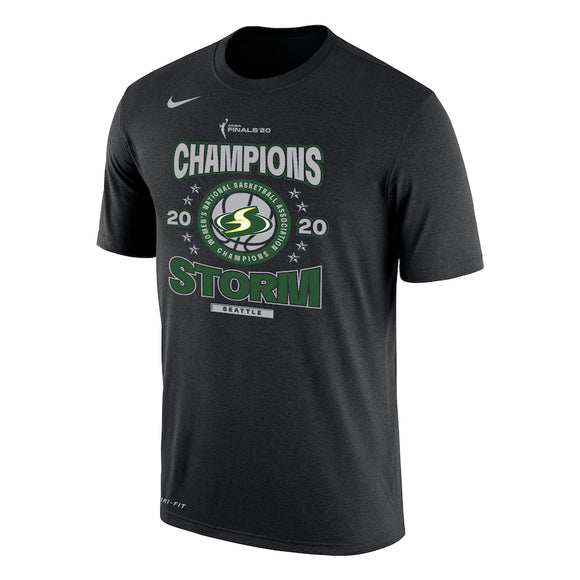 Seattle Storm Nike 2020 WNBA Finals Champions T-Shirt - Black