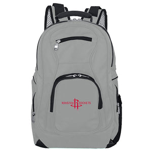 Houston Rockets Backpack Laptop - Gray