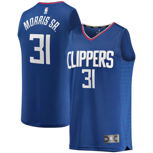 Marcus Morris LA Clippers Fanatics Branded Fast Break Road Player Jersey - Royal