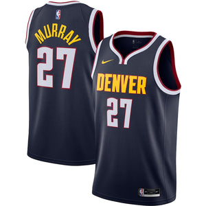 Jamal Murray Denver Nuggets Nike 2020/21 Swingman Jersey Navy - Icon Edition