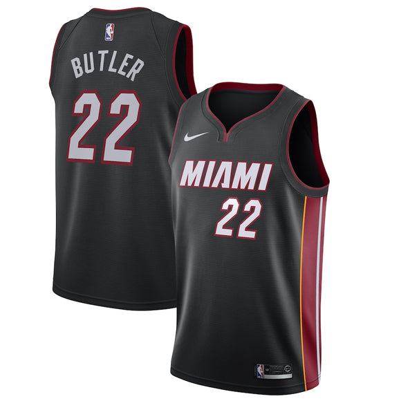 Jimmy Butler Miami Heat Nike 2019/20 Swingman Jersey Black - Icon Edition
