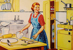 clean and sort the kitchen