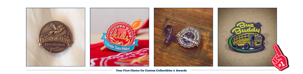 First Place Collectibles, Art Pins, Lapel Pin, Custom Pin, Trading Pin