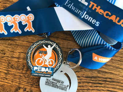 Finish Line Medal, Championship Medal, Custom Medal, Event Medal, First Place Collectibles, Pedal The Cause, #cancercuringbike, Non-Profit