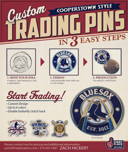 First Place Collectibles: Team Trading Pins, Championship