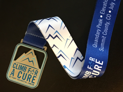 Finish Line Medal, Championship Medal, Custom Medal, Event Medal, First Place Collectibles, Climb For a Cure, Non-Profit