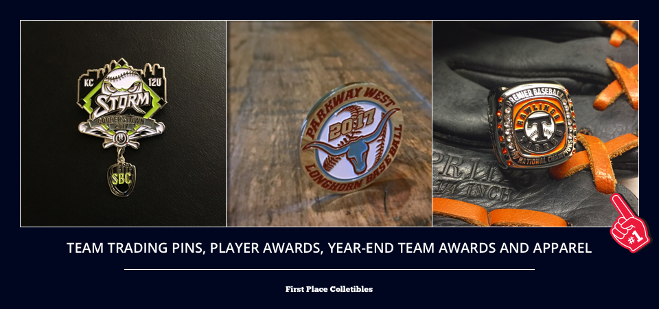 For Players & Coaches – First Place Pins