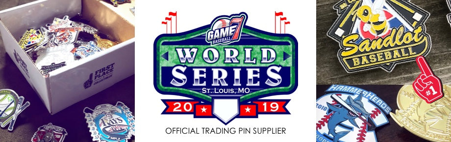 Game 7, Baseball, Tournaments, Trading Pins, Pin Trading, Baseball Pins, Pin, World Series, Game 7 World Series, St. Louis, Tennessee