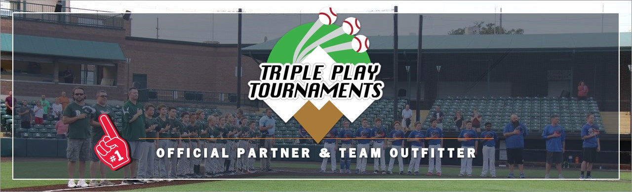 Triple Play Baseball, Triple Play Tournaments, Baseball tournament schedule, Team Trading pin, baseball team pin, pin price, cost, pricing, baseball, tournament travel, First Place Collectibles
