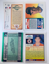 Mike Mussina Baltimore Orioles Rookie Card Lot #1