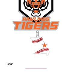 Tigers Sizzle - Home State Dangler