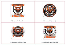 2.00in - Rawlings Tigers Trading Pin