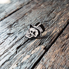 Skull Pin, Art Pin, lapel pin, pin collector, first place pins, jake houvenagle, gutter skulls, good, good pin