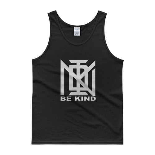 KIND Tanks -Silver font -Mens