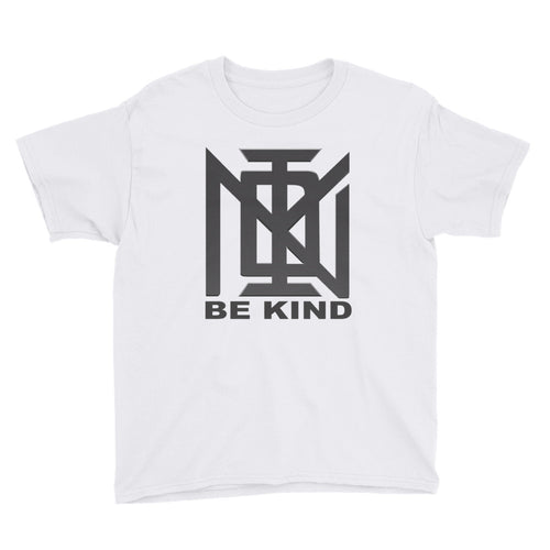 Youth White #BEKIND T-Shirt
