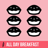 6 All Day Breakfast Vegan Pies
