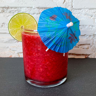 Hibiscus, Mango, & Lime Cooler