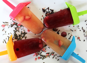 Fruit-tea Popsicles