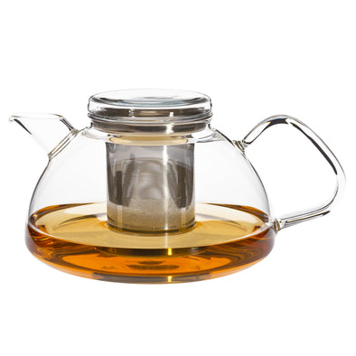 Nova Glass Teapot + Kettle