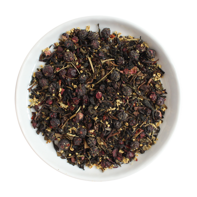 Purple Haze Loose Leaf Organic Oolong Tea