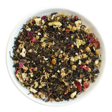 Apple Blossom Loose Leaf Organic Green Tea