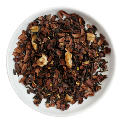 Black Walnut Brownie Loose Leaf Organic Pu-erh Tea