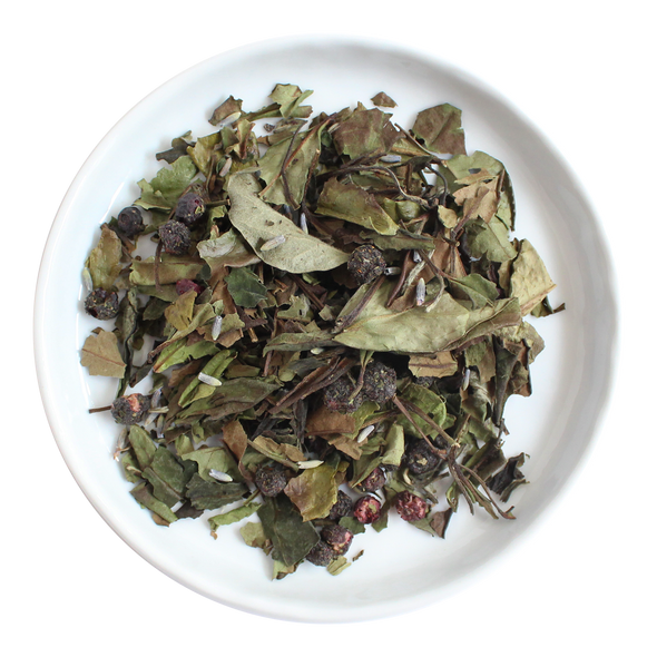 Blueberry Sorbet Loose Leaf Organic White Tea