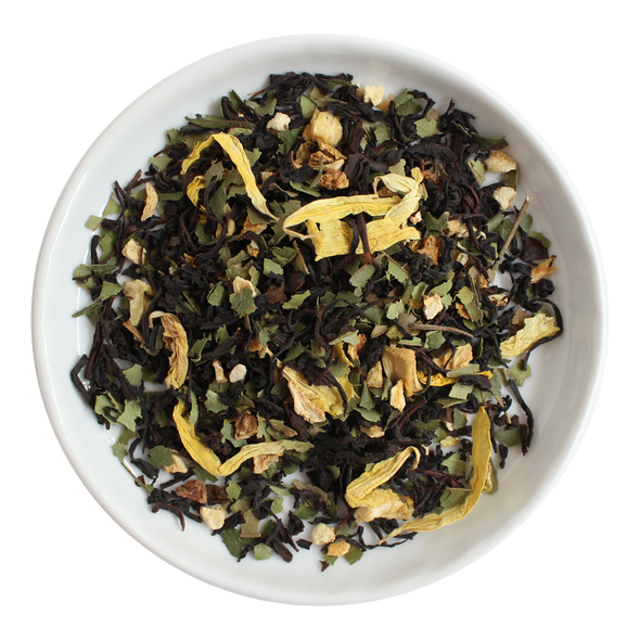 Lemon Lime Loose Leaf Organic Black Tea