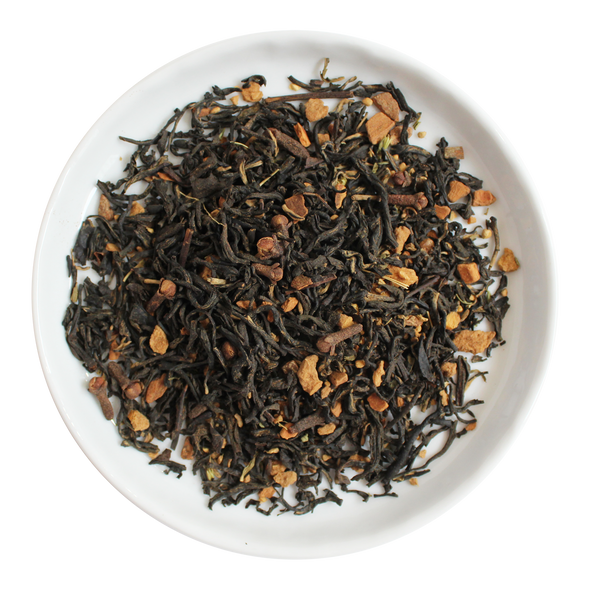 Spiced Peaches Loose Leaf Organic Black Tea
