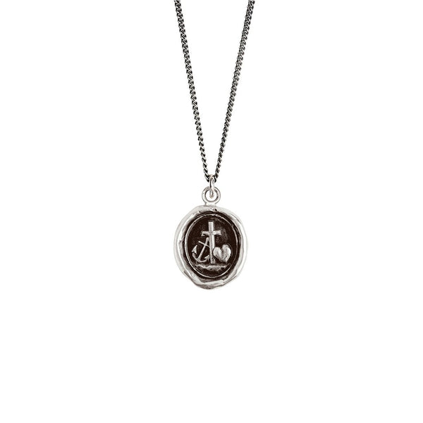 Faith, Hope & Charity Necklace