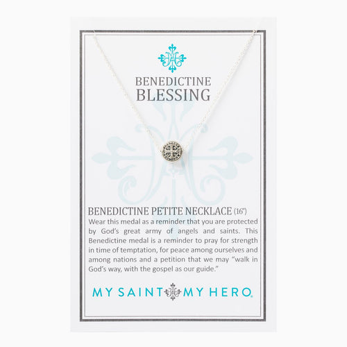Benedictine Petite Necklace