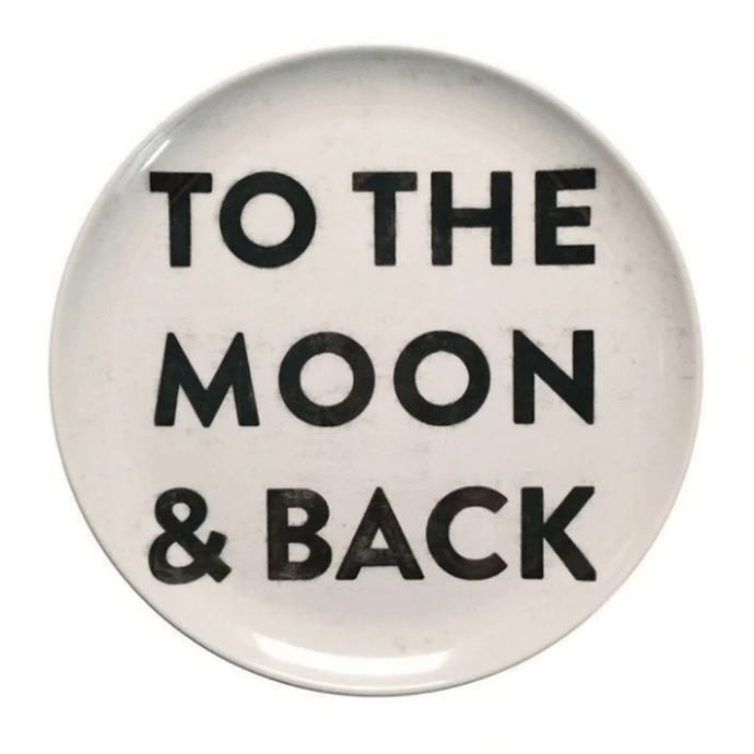 To The Moon and Back Plate