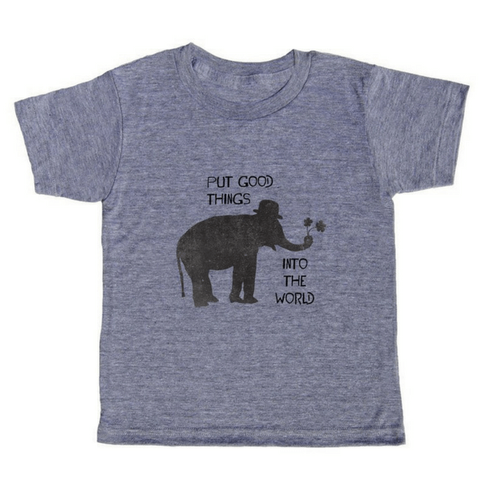 Put Good Things Into The World T-Shirt